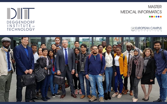 International Masters's in Medical Informatics at the Heart of Europe