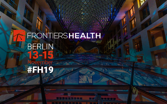 FRONTIERS HEALTH Comes Back to the Heart of Berlin
